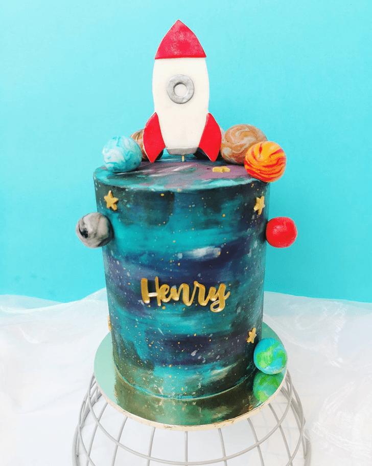 Alluring Rocket Cake