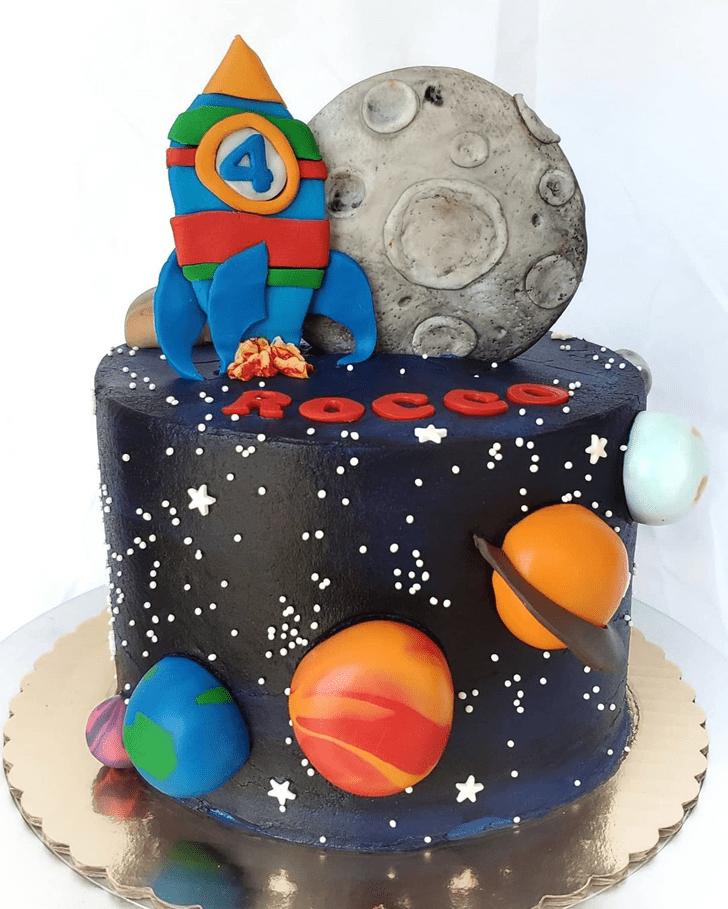 Angelic Rocket Cake