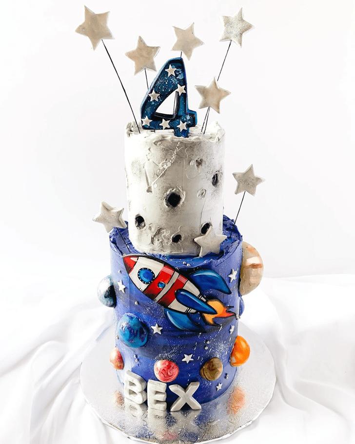 Captivating Rocket Cake