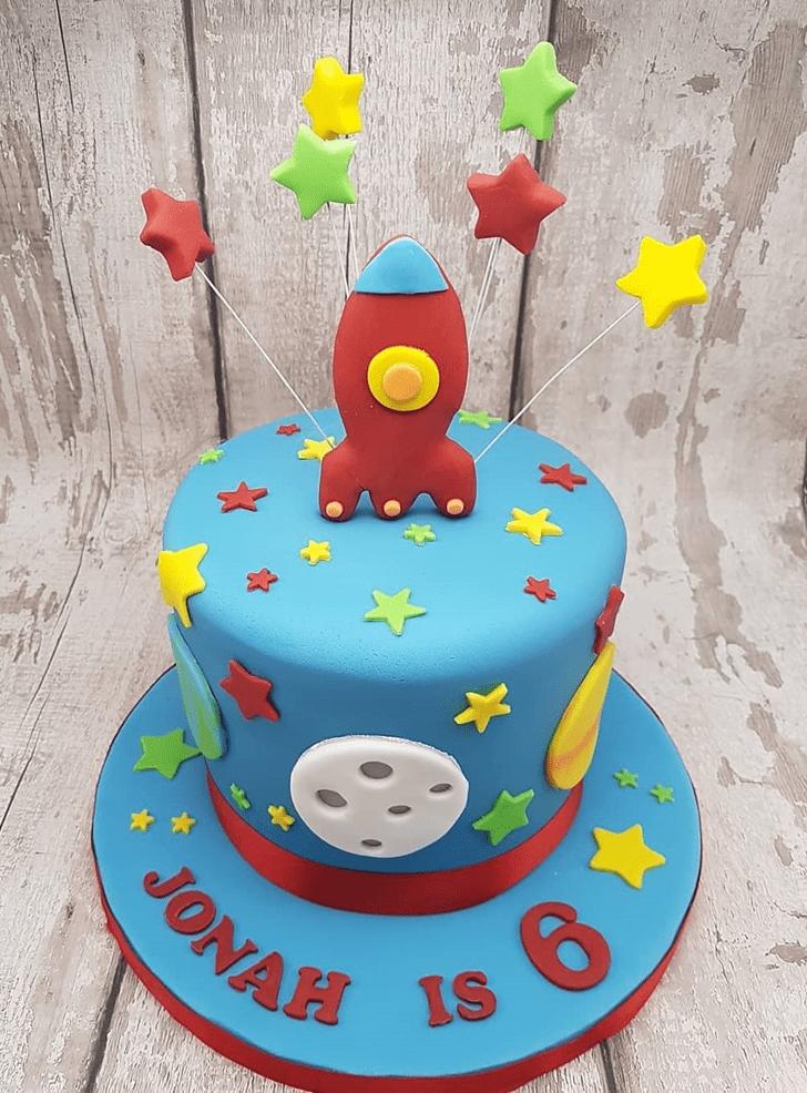 Ideal Rocket Cake