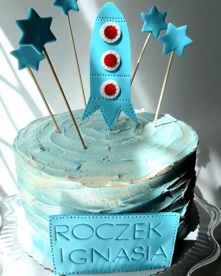 Lovely Rocket Cake Design