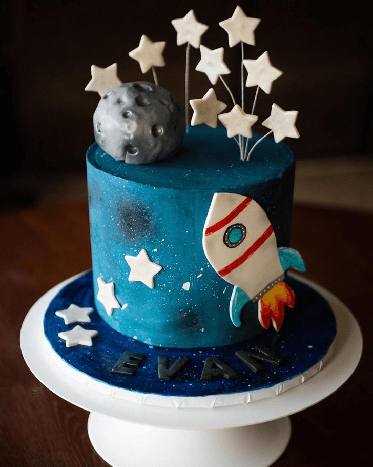 Magnetic Rocket Cake