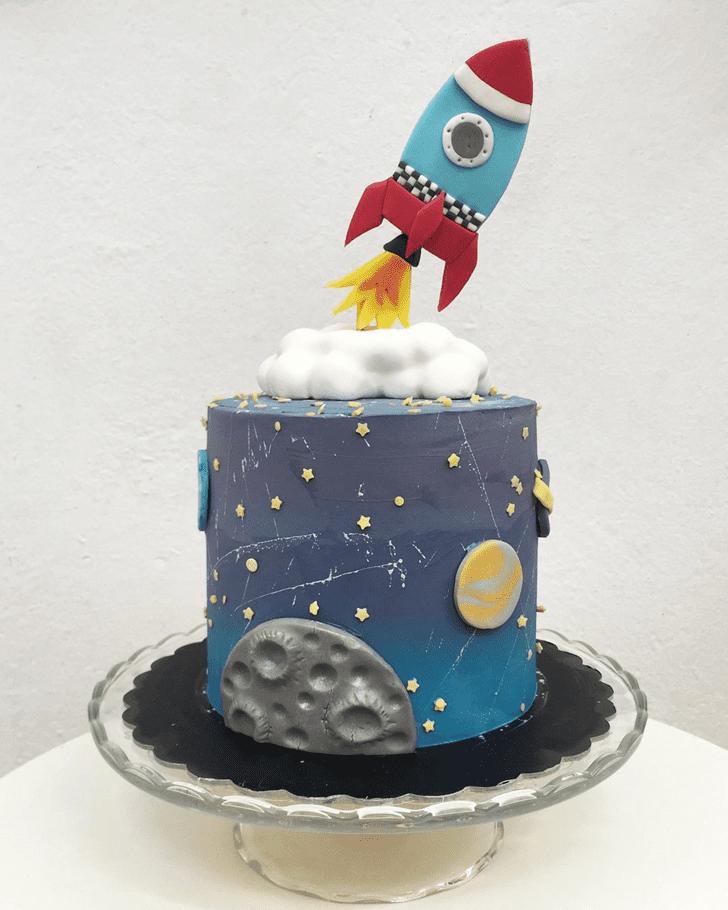 Marvelous Rocket Cake