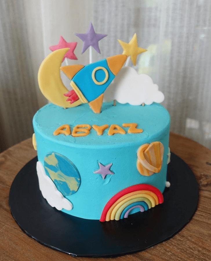 Nice Rocket Cake