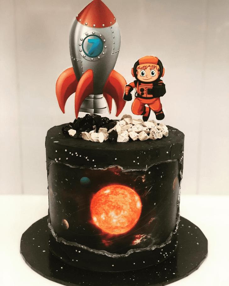 Pretty Rocket Cake