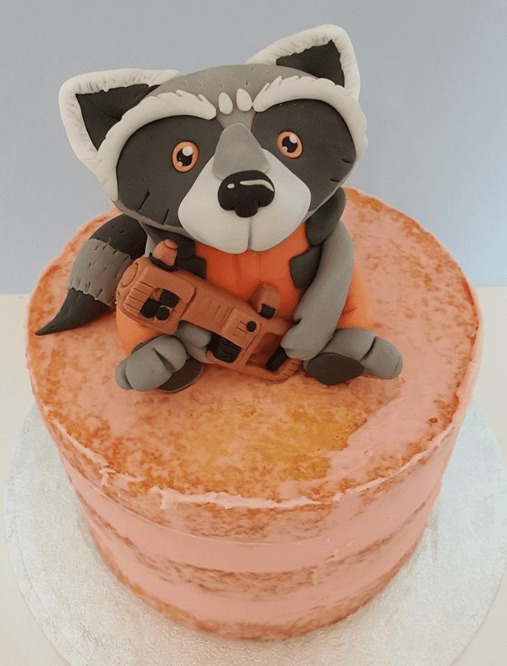 Classy Rocket Raccoon Cake