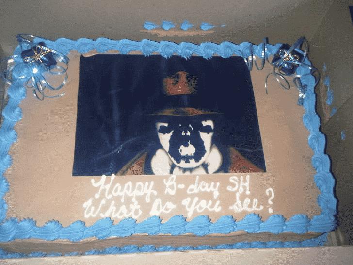 Admirable Rorschach Cake Design