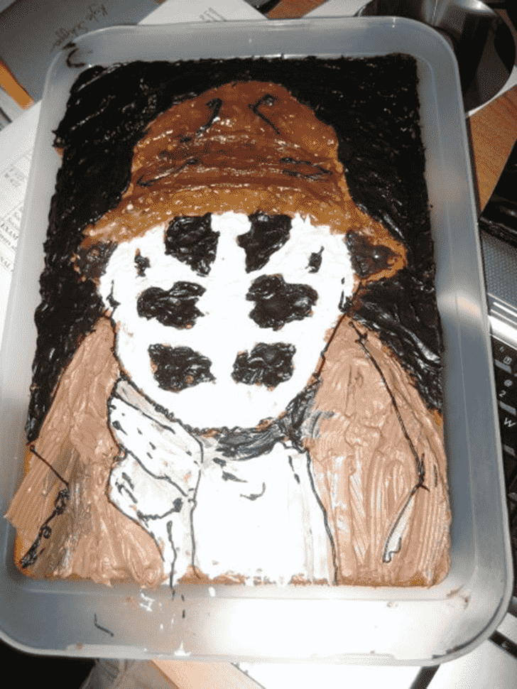 Adorable Rorschach Cake