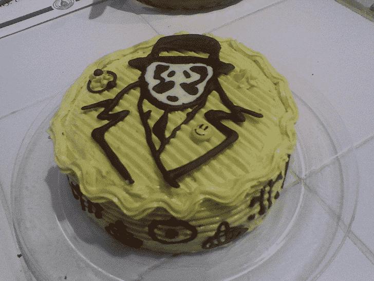 Appealing Rorschach Cake