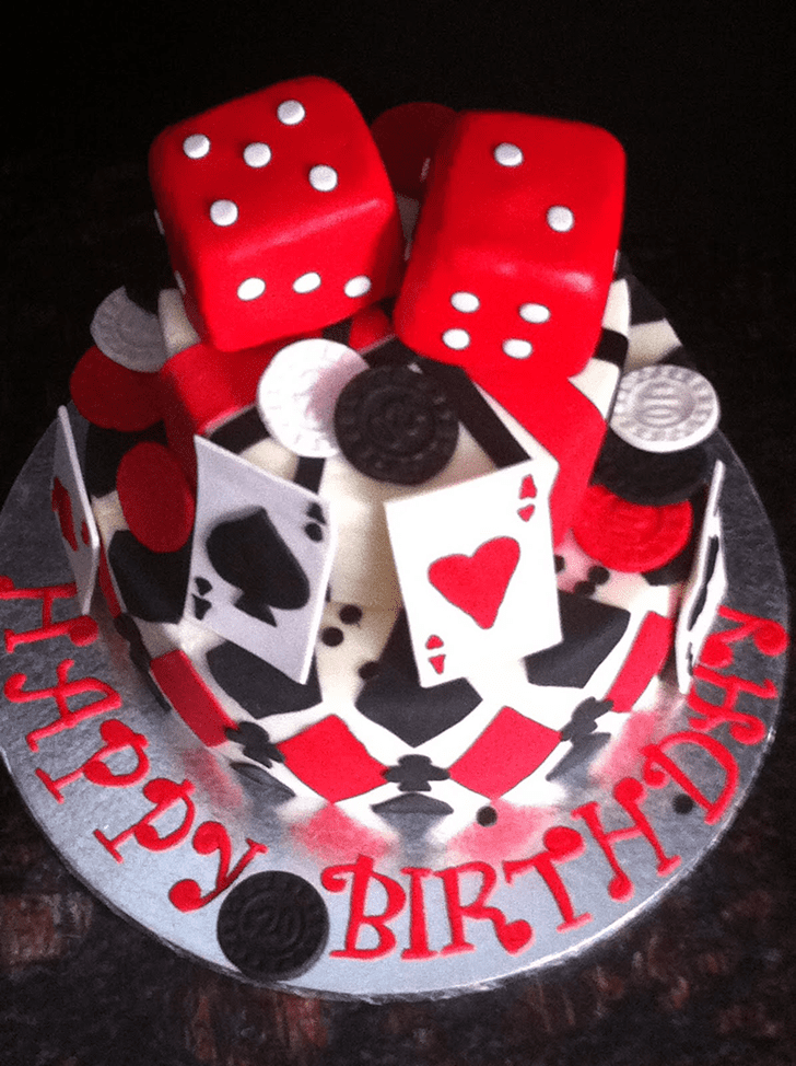 Comely Rummy Cake