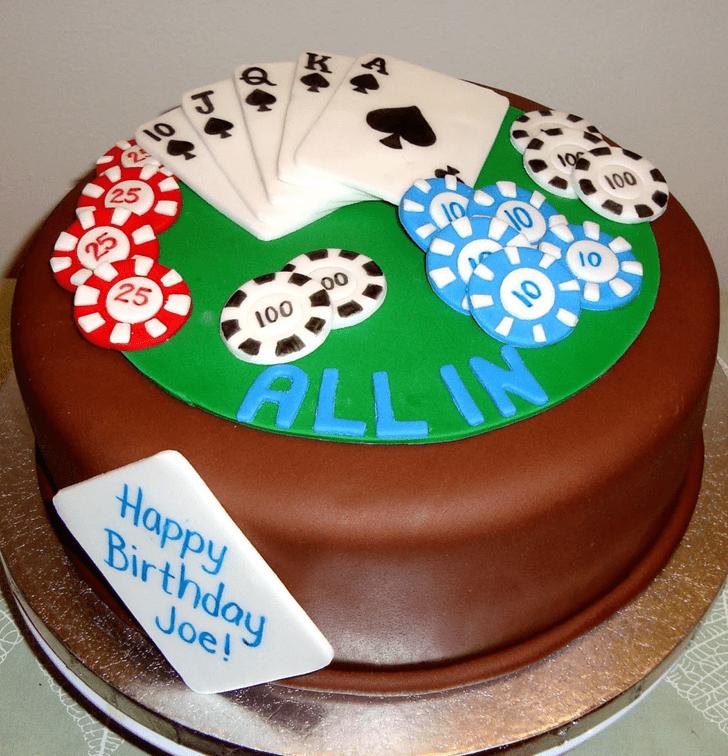 Enthralling Rummy Cake