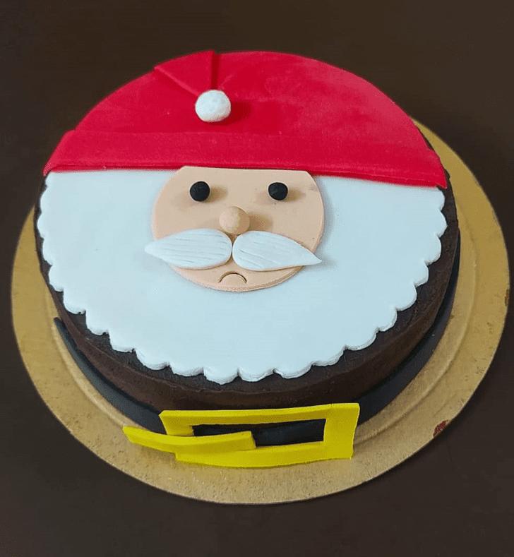 Comely Santa Cake