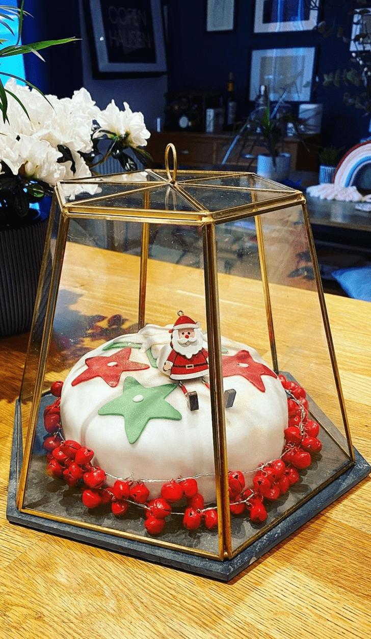 Cute Santa Cake