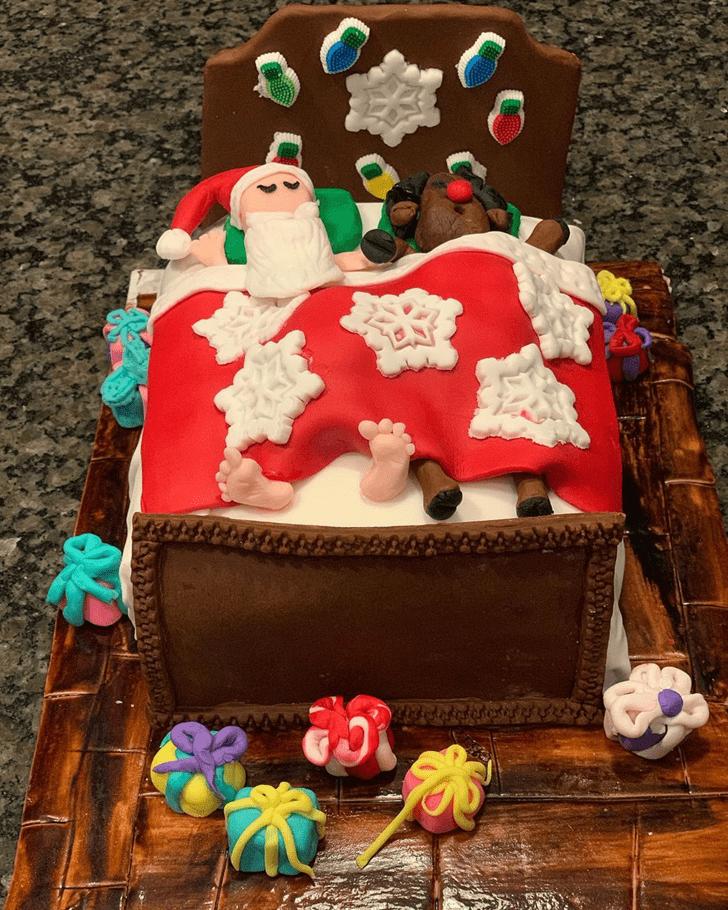 Divine Santa Cake
