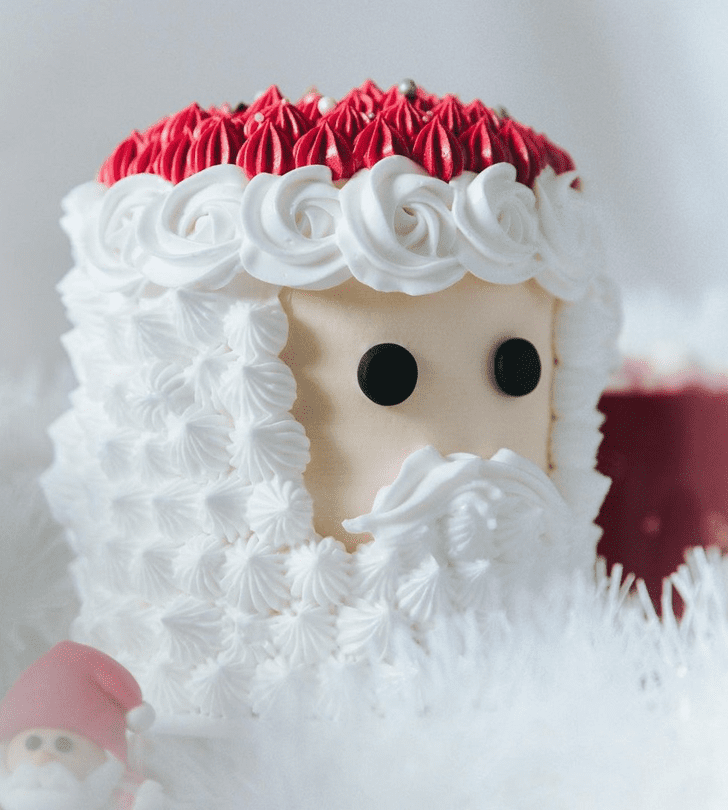 Excellent Santa Cake