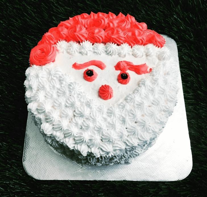 Fetching Santa Cake