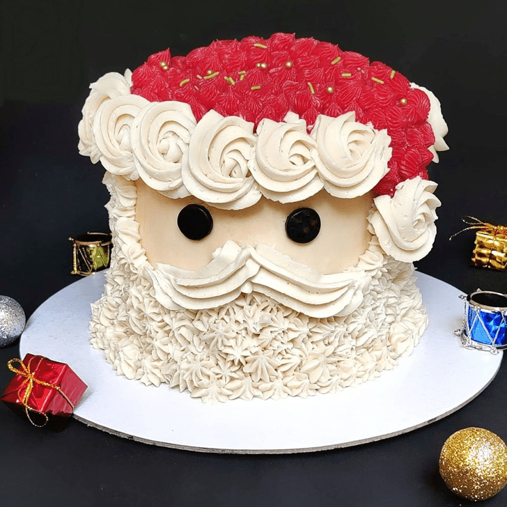 Magnificent Santa Cake