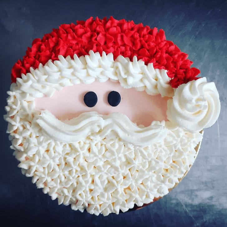 Refined Santa Cake