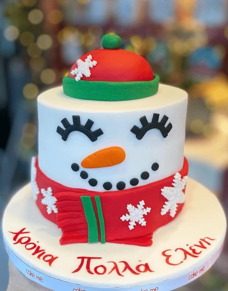 Shapely Santa Cake