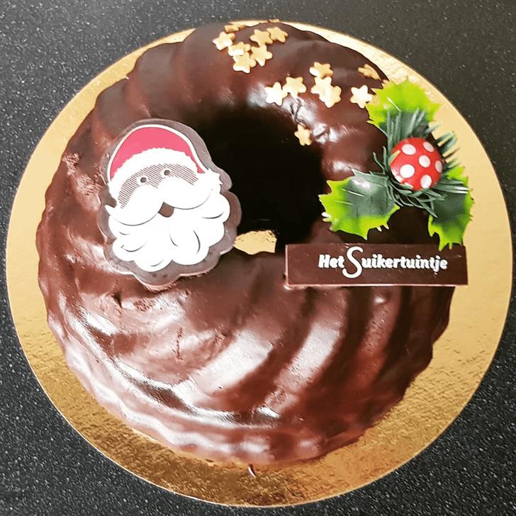 Splendid Santa Cake