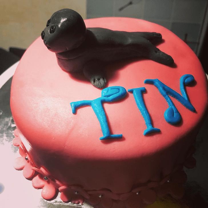 Adorable Sea Lion Cake