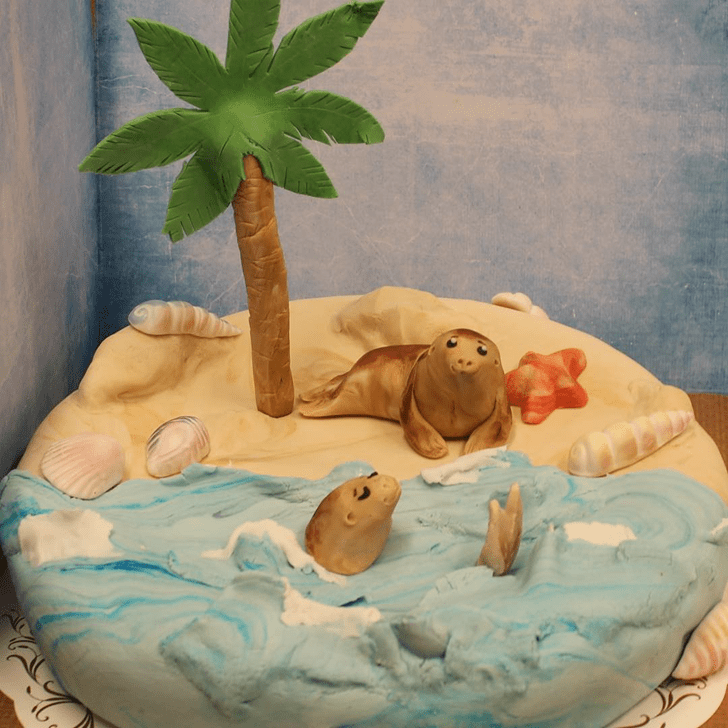 Captivating Sea Lion Cake