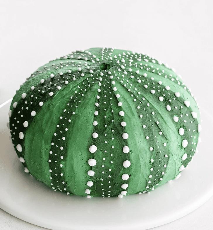 Alluring Sea Urchin Cake