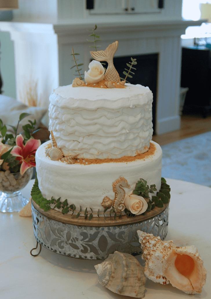 Alluring Seahorse Cake