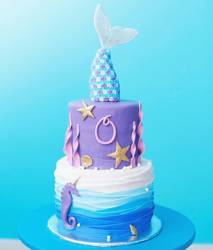 Fair Seahorse Cake