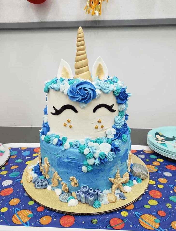 Fetching Seahorse Cake