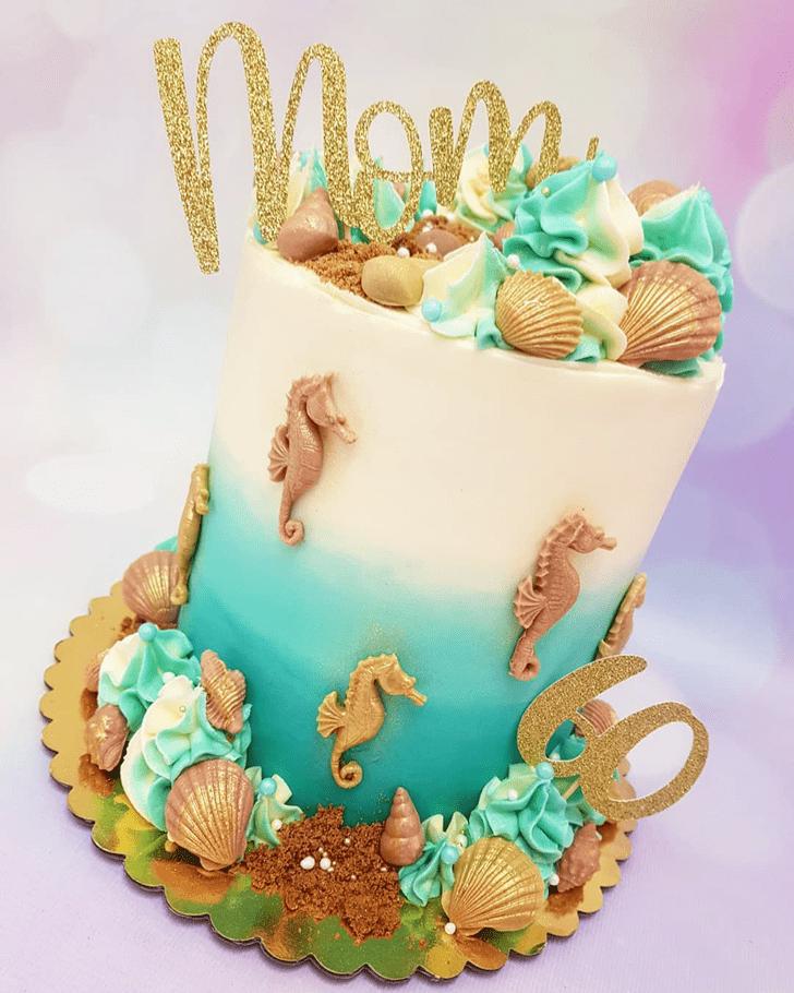 Ideal Seahorse Cake