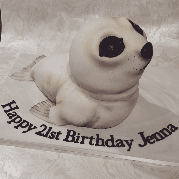 Admirable Seals Cake Design