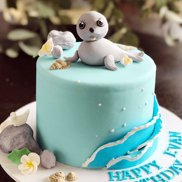 Bewitching Seals Cake