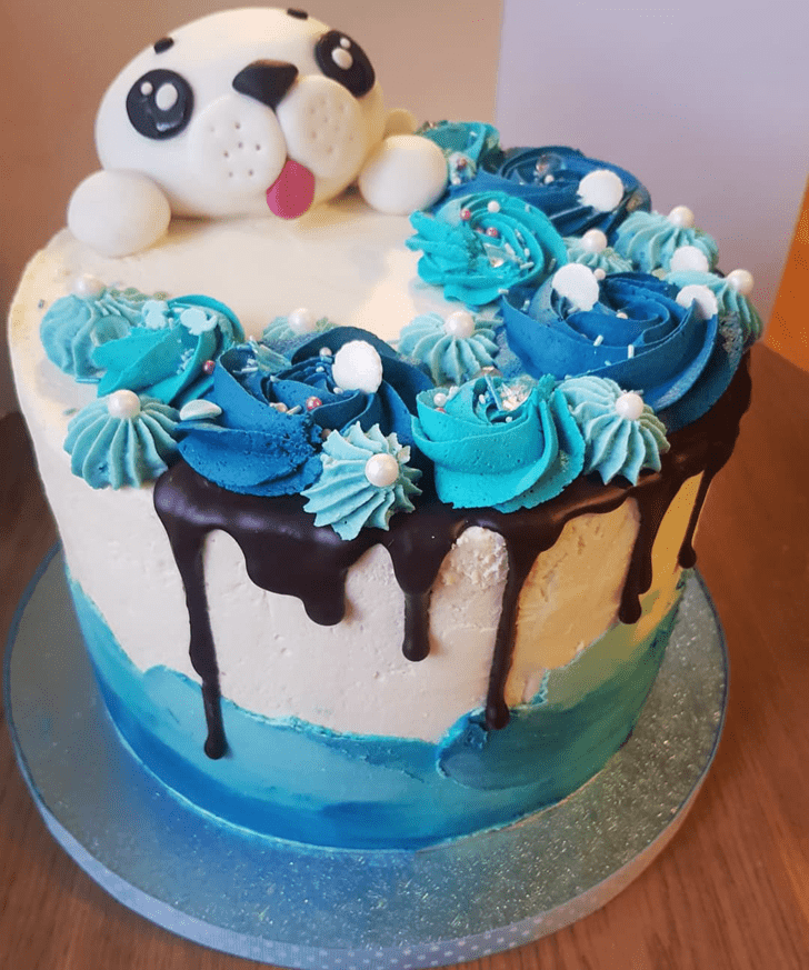 Captivating Seals Cake