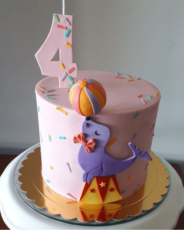 Cute Seals Cake