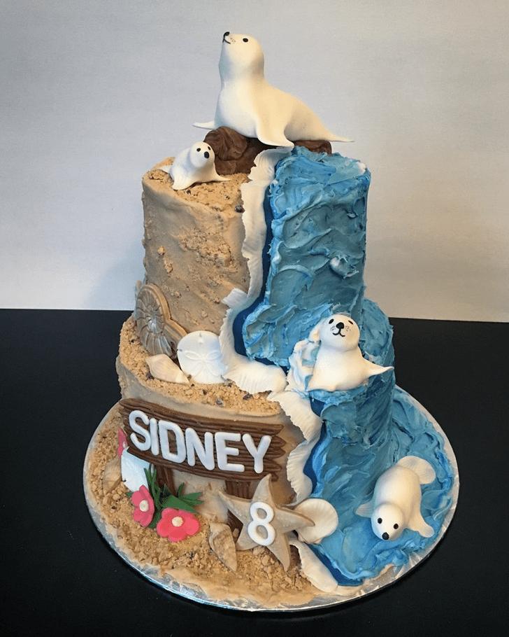 Divine Seals Cake