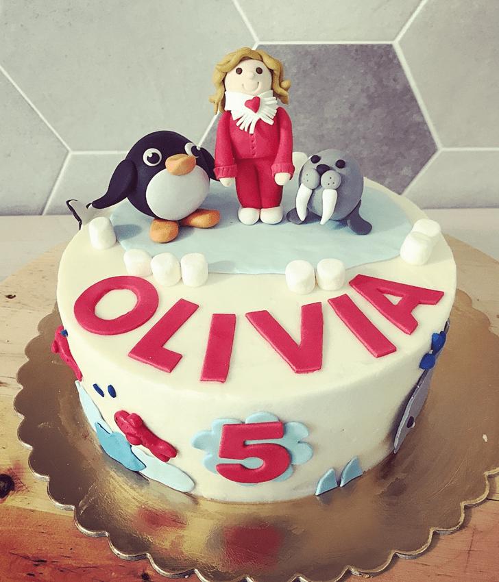 Fascinating Seals Cake