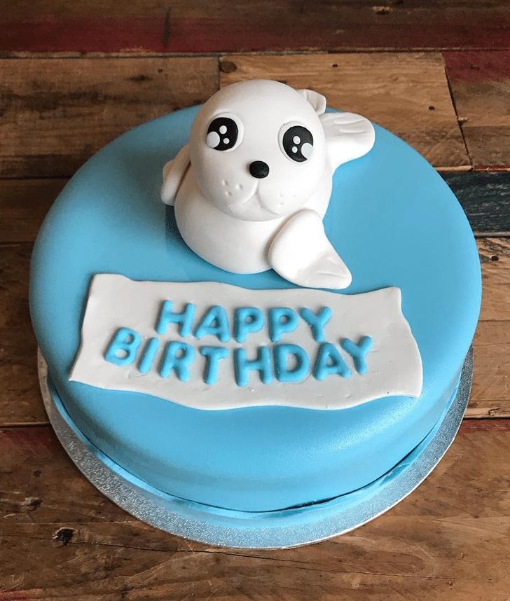 Fetching Seals Cake