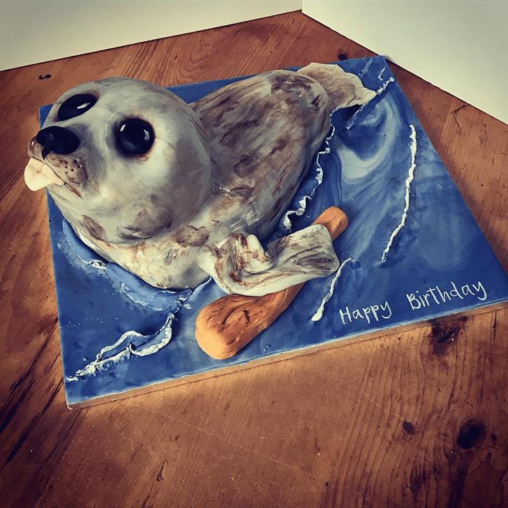 Gorgeous Seals Cake