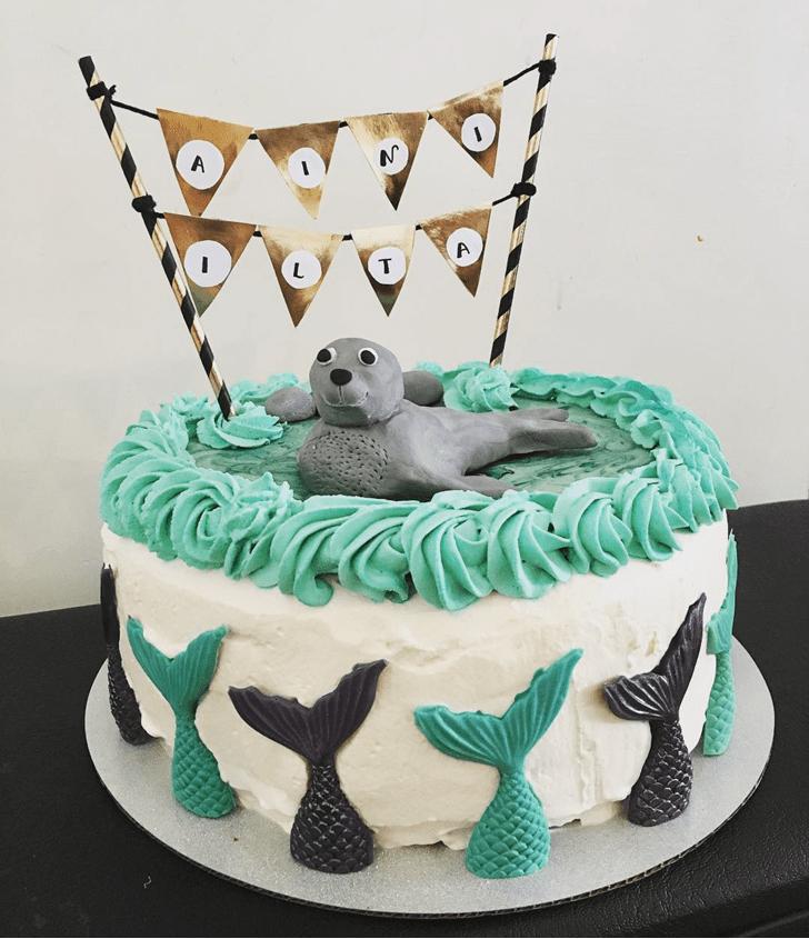 Marvelous Seals Cake
