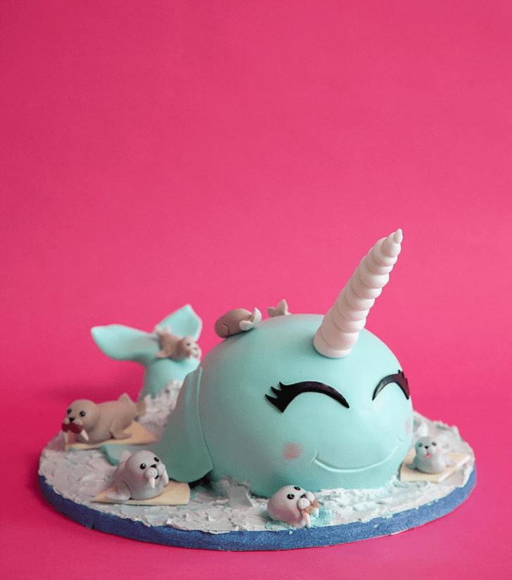 Pleasing Seals Cake