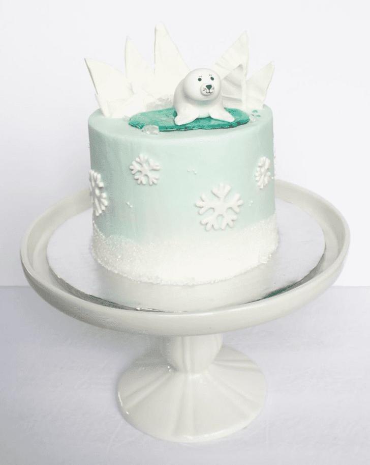 Pretty Seals Cake