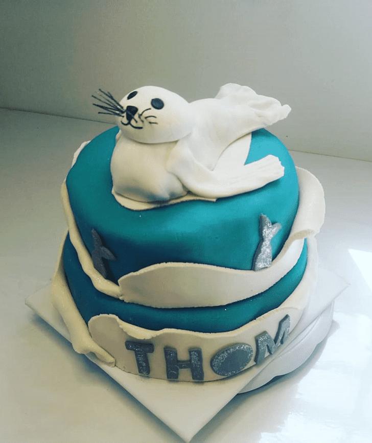 Wonderful Seals Cake Design