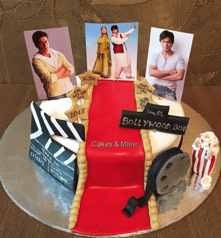 Admirable Shahrukh Khan Cake Design
