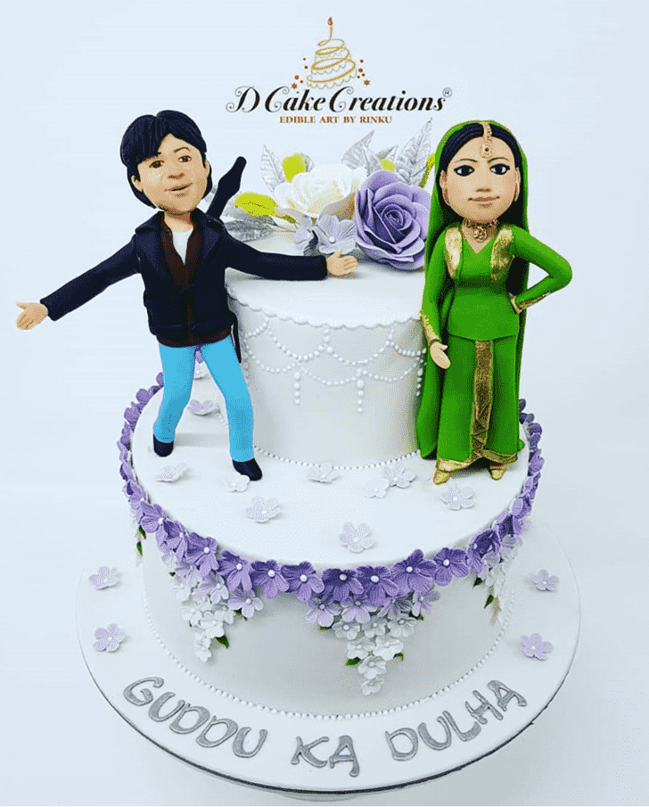 Alluring Shahrukh Khan Cake