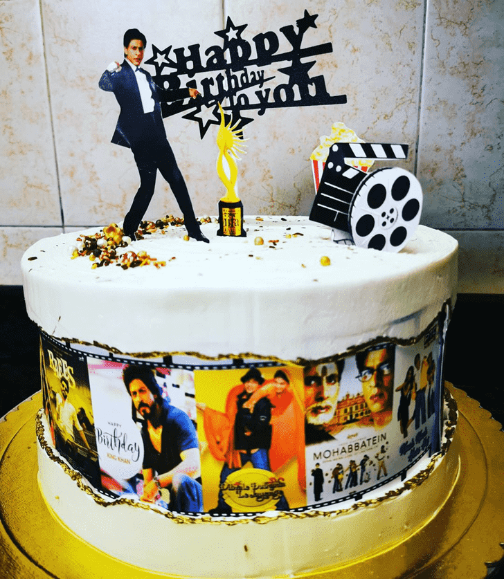 Captivating Shahrukh Khan Cake