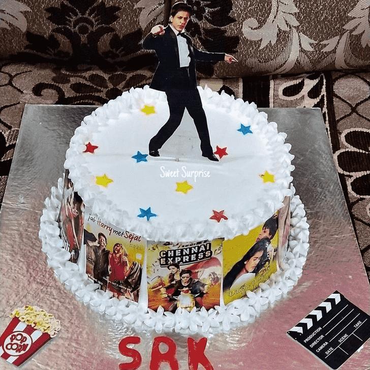Charming Shahrukh Khan Cake
