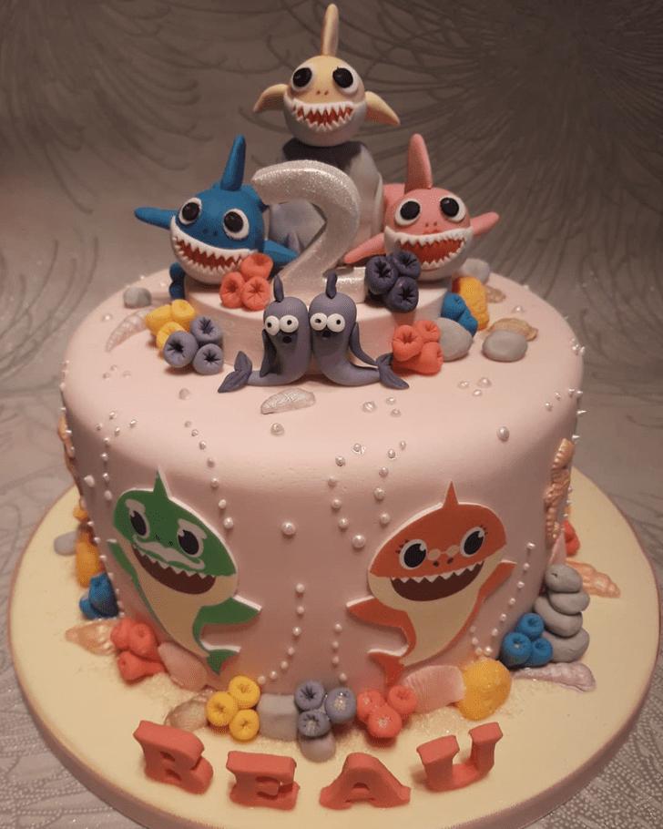 Appealing Shark Cake