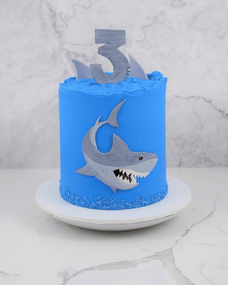 Charming Shark Cake
