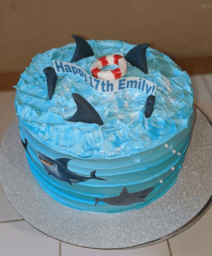 Delicate Shark Cake